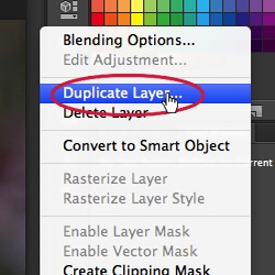 How to Use Burn and Dodge Tool - Duplicate Layer