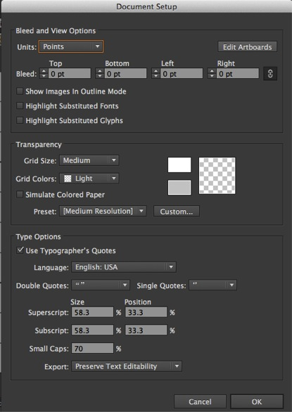How to Work with Artboard in Illustrator - Editing Doc Setup 2