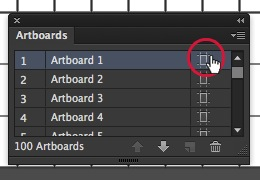 How to Work with Artboard in Illustrator - Editing Artboard Options 2
