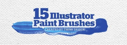 Paint Brushstroke Illustrator Brushes