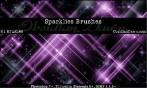 Sparklies Brushes