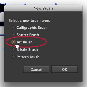 Create Your Own Custom Art Brush - Select Art Brush