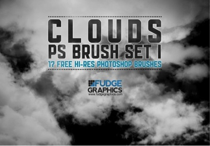 Hi-Res Clouds Brushes Set 1