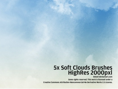Soft Cloud Brushes
