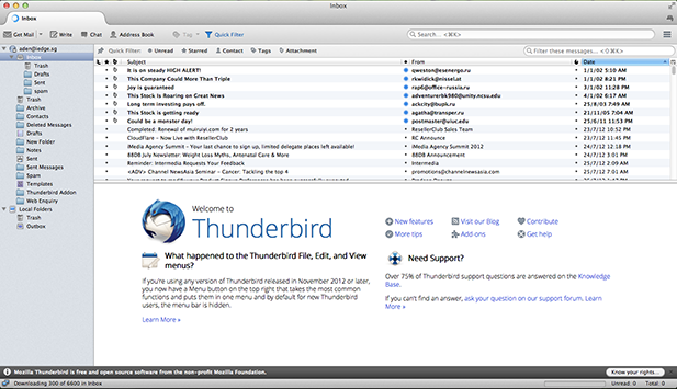 Thunderbird Mac Email Client
