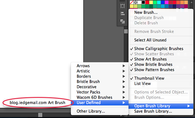 How to Create Abstract Artwork with Your Custom Art Brush in Illustrator