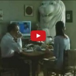 Funny ANA Advertisement Featuring the Singapore Merlion
