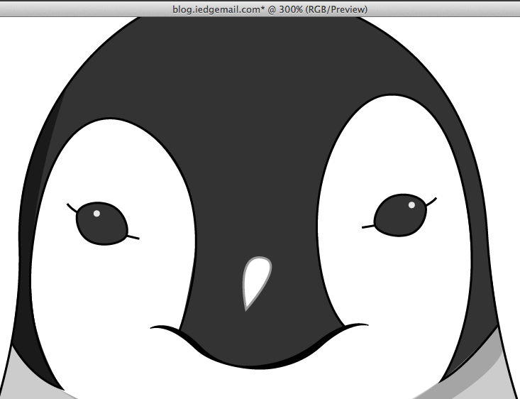 How to Illustrate a Simple Cartoon Penguin in Illustrator