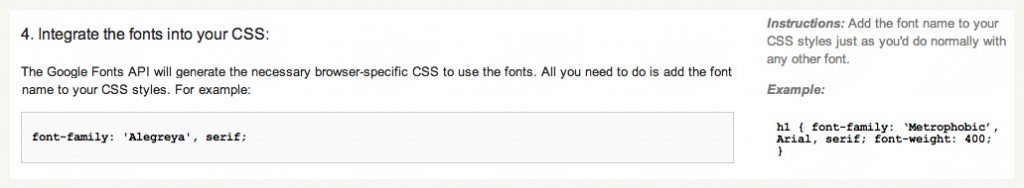 How to Use Google Fonts - 4