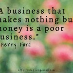 Basis of A Good Business