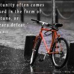 Opportunities, Misfortunes, and Defeats
