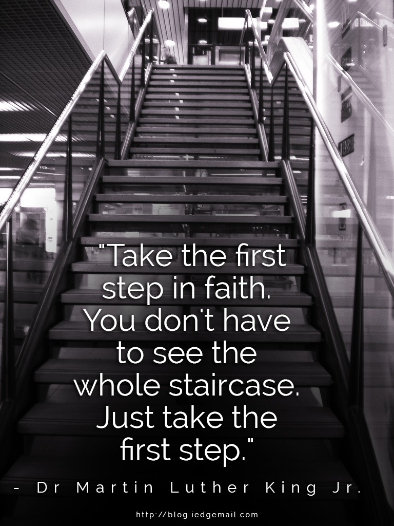 First Step To Success: Believing Is The First Step To Success