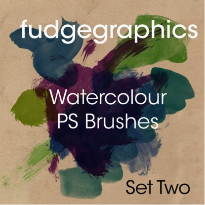 Watercolor Brushes Set 2