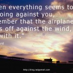Go Against The Wind
