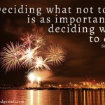 The Importance of Decision Making