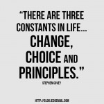 Three Constants in Life