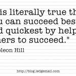 Helping Others to Succeed