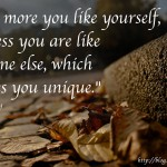 Like Yourself More