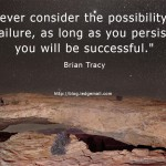 Consider the Possibility of Failure