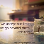 Accepting Our Limits