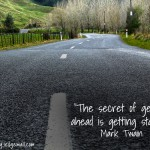 Secret of Getting Ahead