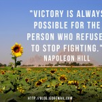 Victory is Possible